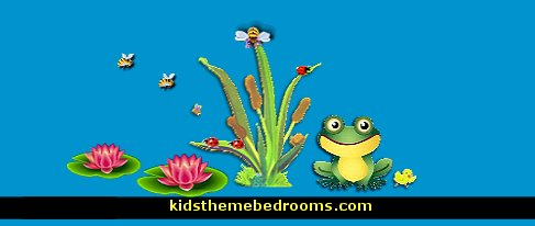 Frog Pond Theme Bedrooms Frog Theme Bedroom Decorating Ideas Frog Theme  Rooms Maries
