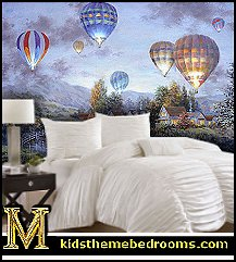 Hot Air Balloon Themed Room