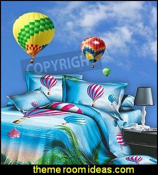 Hot Air Balloon Bedding Hot Air Balloon Wall Mural