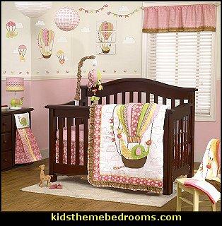 Up U0026 Away Crib Bedding