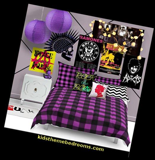 Punk Rock Bedroom Ideas Rocker