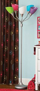 Stripes squares circles decorating ideas candy for High five floor lamp your zone