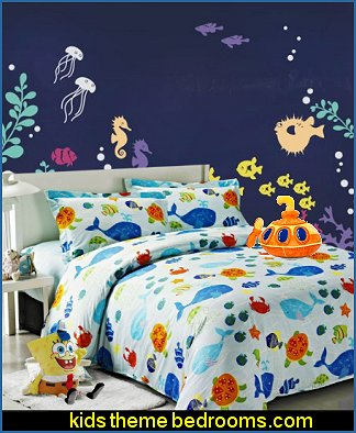 Ocean Park Duvet Cover Set Under The Sea Wall Deca