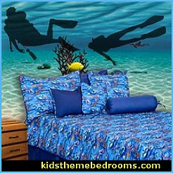 bedroom underwater. Decal Stickers Scuba Divers Your Child Who Loves Fish Will Have A Very Peaceful Nightu0027s Bedroom Underwater