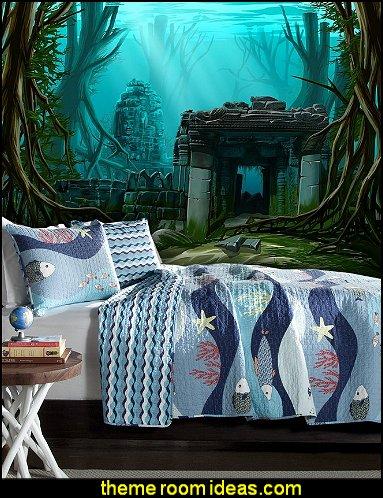 Underwater Theme Bedrooms Ocean Sea Life Theme Bedrooms